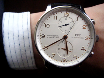 メンズ腕時計でIWCって知っている?