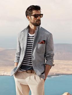 夫を磨く!色で着こなすジャケット選び基本4パターンとは?