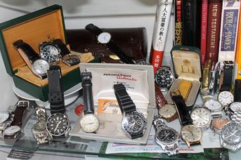 腕時計の保管、どうしていますか?
