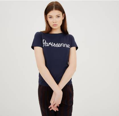 https://shop.kitsune.fr/woman/spring-summer-collection/t-shirts-polos.html#/product/tee-shirt-parisienne-navy
