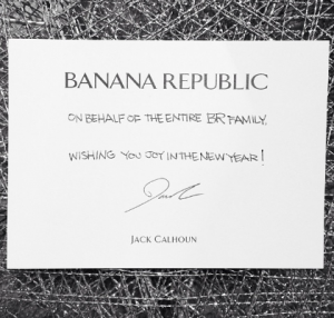 引用: BANANA REPABLIC Instagram