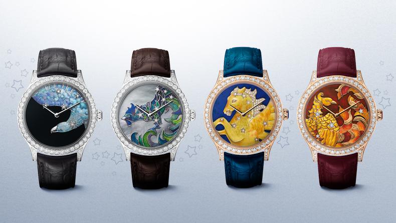メンズもすごい!ヴァンクリーフ&アーペルの腕時計はファンタジー!