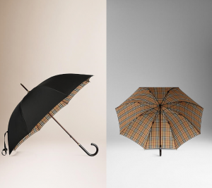 スクリーンショットを張り付けています https://jp.burberry.com/check-lined-walking-umbrella-p39709851
