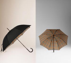スクリーンショットを張り付けています https://jp.burberry.com/check-lined-walking-umbrella-p39709851