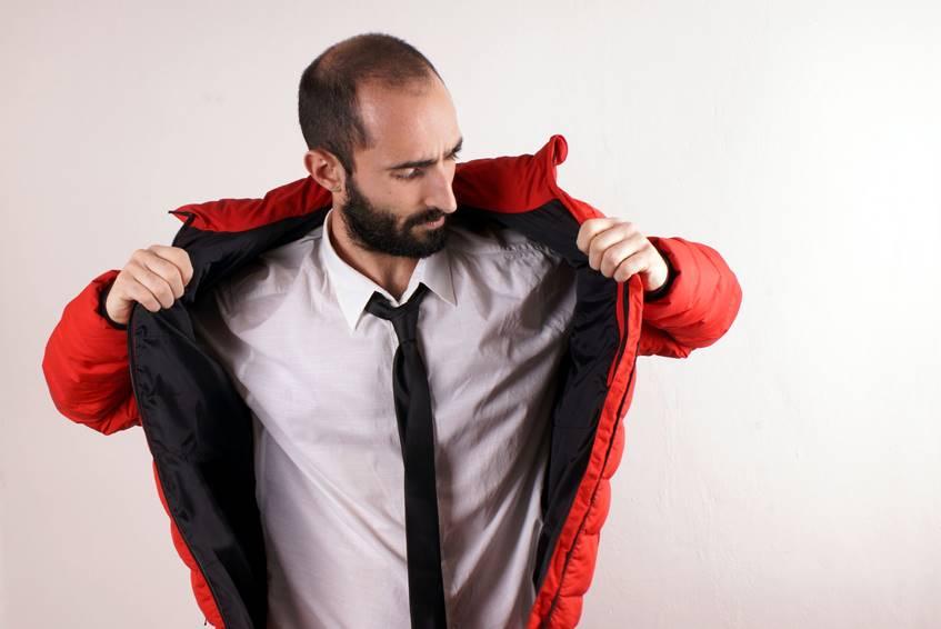 メンズスーツと合わせるキルティング・ジャケットならラベンハム
