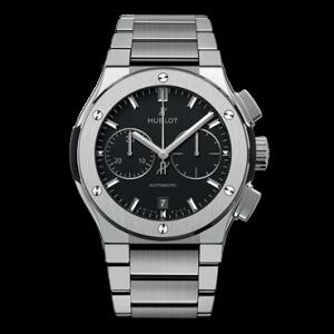 http://www.hublot.com/en/collection/classic-fusion/classic-fusion-chronograph-titanium-bracelet-45mm 引用