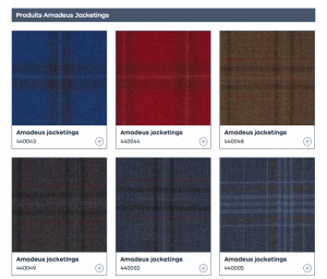 引用:http://www.dormeuil.com/fr/collection/la-collection-en-details/best-sellers/amadeus-jacketings/
