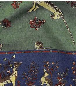 https://www.drakes.com/scarves/green-unicorn-print-silk-and-wool-scarf? 引用