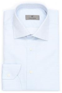 引用: http://www.canali.com/en_gb/clothing/cotton-shirt-with-micro-stripes-in-white-and-light-blue-718gd00645401.html