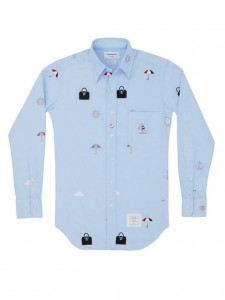 (引用: https://www.thombrowne.com/LONG-SLEEVE-SHIRT-WITH-ALLOVER-ICON-EMBROIDERY-IN-BLUE-OXFORD-213.html)