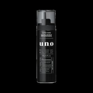 (引用: 資生堂 http://www.shiseido.co.jp/uno/products/super_hard_mousse/)