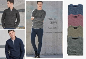 (引用: http://www.next.co.uk/men/knitwear/winter-warmers/6)