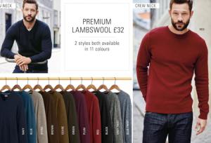 (引用: http://www.next.co.uk/men/knitwear/luxury-knits/1)