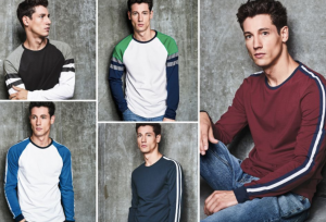(引用: http://www.next.co.uk/men/t-shirts-tops/fashion-sweats/11)