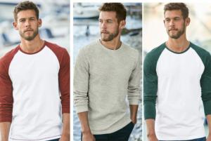 (引用: http://www.next.co.uk/men/t-shirts-tops/casual-tee/14)