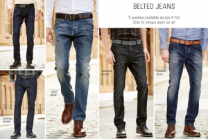 (引用: http://www.next.co.uk/men/jeans-trousers-shorts/belted-core-denim/19)