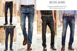 (引用: http://www.next.co.uk/men/jeans-trousers-shorts/belted-core-denim/19)
