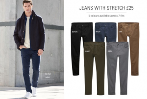 (引用: http://www.next.co.uk/men/jeans-trousers-shorts/casual-trousers-shorts/4)