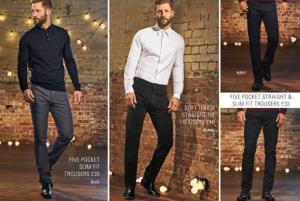 (引用: http://www.next.co.uk/men/jeans-trousers-shorts/smart-trousers/2)