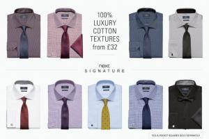 (引用: http://www.next.co.uk/men/shirts/formal-shirts/17)