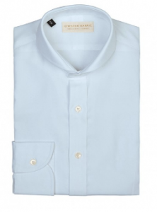 引用: http://www.chesterbarrie.co.uk/shirts-ties/shop-by-category-15/business-shirts/sky-blue-charles-twill-voile-shirt-3924.html