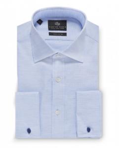 引用: http://www.chesterbarrie.co.uk/shirts-ties/shop-by-category-15/business-shirts/contemporary-melange-pinpoint-shirt.html