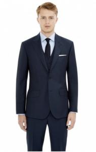引用: https://hardyamies.com/navy-mohair-three-piece-suit-brinsley-fit