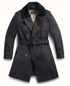 引用: http://grenfell.com/collections/contemporary/products/london-trench-coat-cotton-gabardine-with-removable-shearling-collar