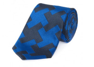 引用: http://www.chesterbarrie.co.uk/shirts-ties/shop-by-category-15/ties/blue-navy-dogtooth-silk-tie.html