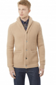 引用: https://hardyamies.com/camel-cord-stitch-cardigan-wool-and-cashmere-blend