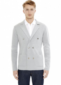引用: https://hardyamies.com/grey-double-breasted-cardigan-merino-wool