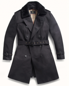 引用: http://grenfell.com/collections/contemporary/products/london-trench-coat-cotton-gabardine-with-removable-shearling-collar