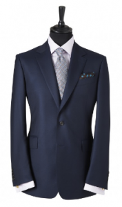 引用: http://www.chesterbarrie.co.uk/tailoring-17/shop-by-collection/chester-barrie-black/navy-albemarle-worsted-twill-2-piece-suit-4579.html