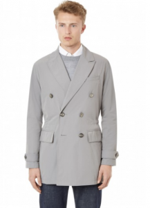 引用: https://hardyamies.com/grey-double-breasted-bridge-coat-plain-nylon
