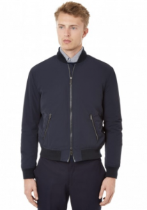 引用: https://hardyamies.com/navy-tailored-zip-bomber-plain-nylon