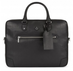 引用: https://hardyamies.com/black-leather-monogram-embossed-soft-briefcase