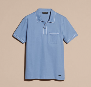 引用: https://jp.burberry.com/piped-cotton-pique-polo-shirt-p40461621