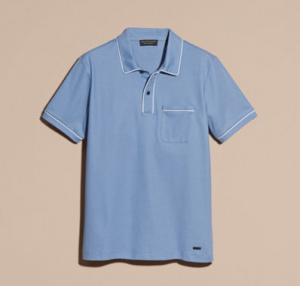 引用: https://jp.burberry.com/piped-cotton-pique-polo-shirt-p40461621