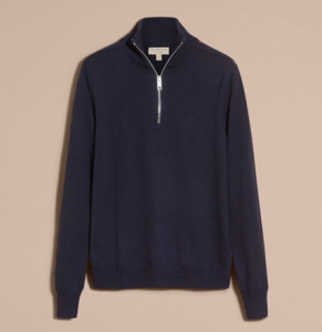 引用: https://jp.burberry.com/zip-collar-merino-wool-sweater-p40275441