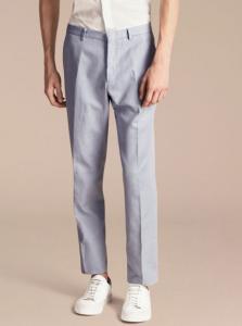 引用: https://jp.burberry.com/slim-fit-cottonlinen-trousers-p40380241