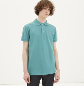 引用: https://shop.kitsune.fr/man/spring-summer-collection/t-shirts-polos.html#/product/polo-fox-head-embroidery-mint