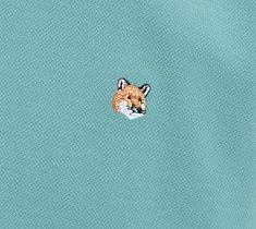 引用: https://shop.kitsune.fr/man/spring-summer-collection/t-shirts-polos.html#/product/polo-fox-head-embroidery-mint