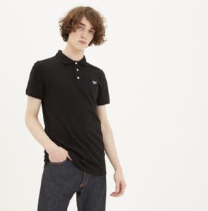 引用: https://shop.kitsune.fr/man/spring-summer-collection/t-shirts-polos.html#/product/polo-tricolor-fox-patch-black