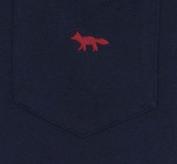 引用: https://shop.kitsune.fr/man/spring-summer-collection/t-shirts-polos.html#/product/tee-shirt-fox-embroidered-navy