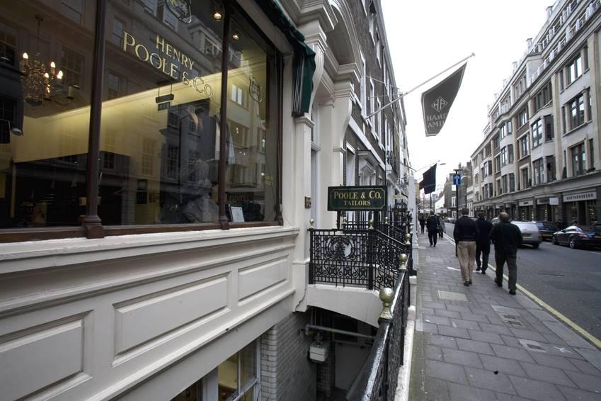 サヴィル・ロウ最古の英国スーツ店|偉大なるヘンリー・プール