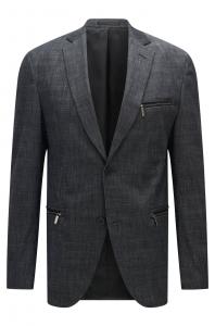 引用:http://www.HUGO BOSS.com/us/ronen-extra-slim-fit-stretch-cotton-blend-patterned-blazer/hbna50332244.html?dwvar_hbna50332244_color=010_Charcoal#start=1