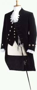 引用: http://www.henrypoole-jp.com/court_dress.html