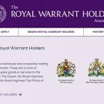 引用:https://www.royalwarrant.org/