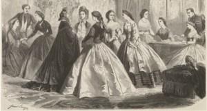 引用:https://upload.wikimedia.org/wikipedia/commons/thumb/b/bd/1860%27s_Dress.jpg/388px-1860%27s_Dress.jpg
