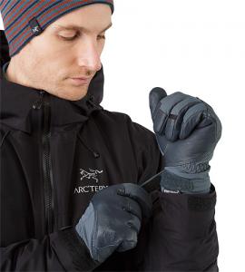 (引用: http://www.arcteryx.com/product.aspx?country=ca&language=jp&gender=Mens&category=Accessories&subcat=Gloves&model=Teneo-Glove)